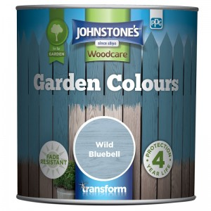 Johnstones Garden Colours Paint 1L Wild Bluebell