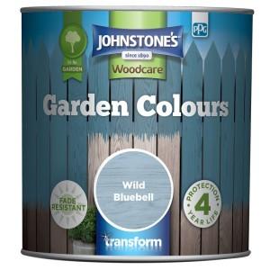 Johnstones Garden Colours Paint 2.5L Wild Bluebell