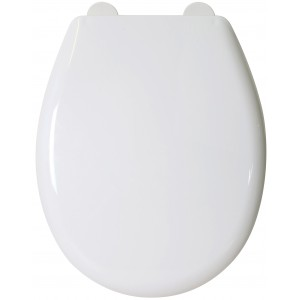 Croydex Canada Easy Fix Toilet Seat - White