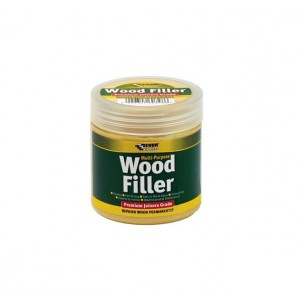 Everbuild Multi Purpose Wood Filler 250ml White