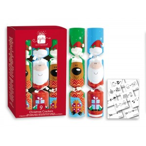 """Christmas Crackers 8"""" (9 Pack)"""
