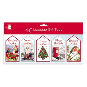 Christmas Gift Tags (40 Pack) Traditional
