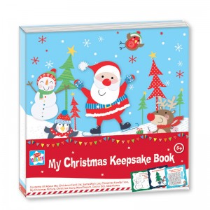 Kids Create My Christmas Keepsake Book