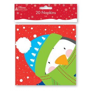 Kids Christmas Napkins (20 Pack)