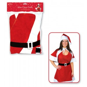 Miss Claus Christmas Outfit