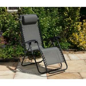 Zero Gravity Chair - Dark Grey