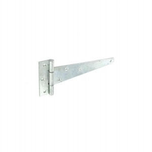 Securit S4574 Zinc Plated Tee Hinges 250mm (Pair)