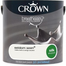 Crown Emulsion Paint 2.5L Seldom Seen Silk