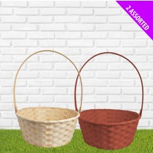 Large Wicker Basket - Assorted