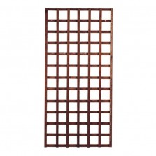 Heavy Duty Framed Trellis Panel (6 x 3) Tan