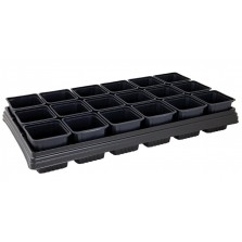 Growing Tray 18 Square Pots
