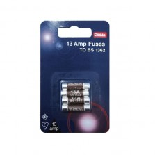 Dencon 13A Fuses (4 Pack)