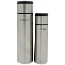 ThermoCafe Stainless Steel Flat Top Flask 500ml