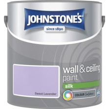 Johnstones Vinyl Emulsion Paint 2.5L Sweet Lavender Silk