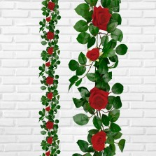 Rose Garland Red 1.9m