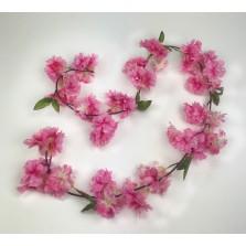 1.8M Pink Cherry Blossom Garland