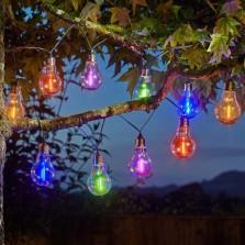 Eureka! Neon-esque Solar Lightbulbs (10 Pack)