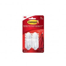 Command Designer Hooks Medium White (2 Pack)