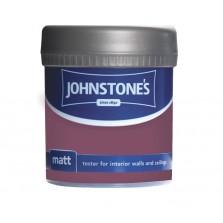 Johnstones Vinyl Emulsion Tester Pot 75ml Deep Amethyst (Matt)