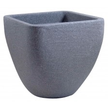 Square Top Round Base Planter Granite 30cm
