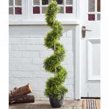 Artificial Cypress Topiary Twirl 120cm