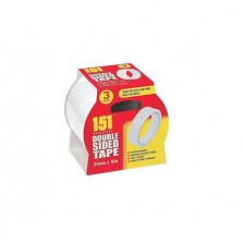 151 Double Sided Tape 24mm x 10m (3 Pack)