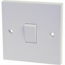 Dencon 10 Amp 1 Gang 1W Switch (4401NB)
