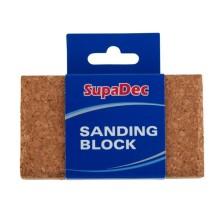 Supadec Cork Sanding Block