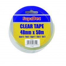 SupaDec Clear Tape (48mm x 50m) CT4850