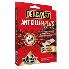 Deadfast Ant Killer Plus Bait Station (3 x 4g)