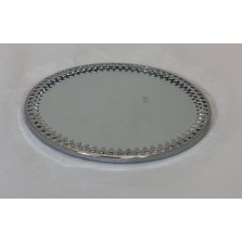 Textured Edge Candle Plate