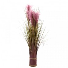 Faux Bouquet Purple Pampas 70cm
