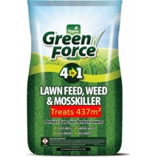 Green Force Lawn Feed, Weed & Mosskiller 8.75kg