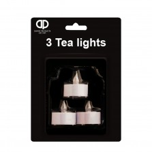 Christmas Battery Operated Tea Lights (3 Pack)