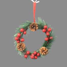 Christmas Wreath Berry Hanger 46cm