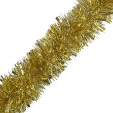 Christmas Chunky Tinsel 2m Gold