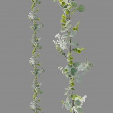 Christmas Frosted Eucalyptus Garland 6FT