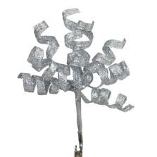 curl clip pick silver