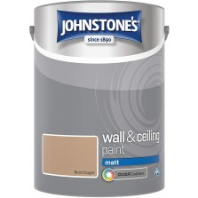 Johnstones Vinyl Emulsion Paint 5L Burnt Sugar (Matt)