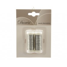 Christmas Floristry Silver Wire (2 Pack)