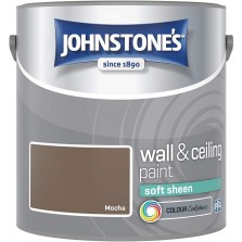 Johnstones Vinyl Emulsion Paint 2.5L Mocha Soft Sheen