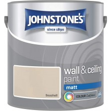 Johnstones Vinyl Emulsion Paint 2.5L Sea Shell (Matt)