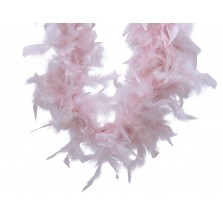 Feather Boa Garland 150cm Blush Pink