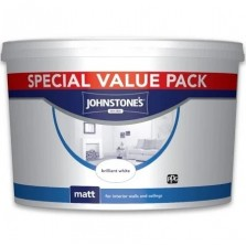 Johnstones Matt Emulsion 7.5L Brilliant White
