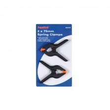 Supatool Spring Clamps 75mm (2 Pack)