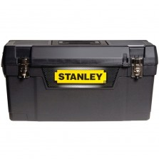 "Stanley 20"" Metal Latch Tool Box"