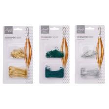 Christmas Ornament Hooks (150 Pack)