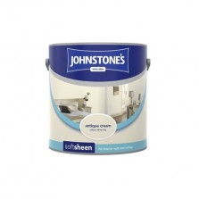 Johnstones Vinyl Emulsion Paint 5L Antique Cream (Soft Sheen)