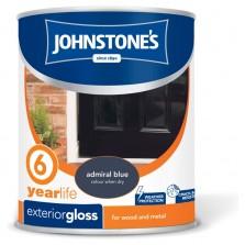 Johnstones Exterior Gloss 750ml Admiral  Blue