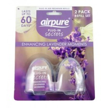 Airpure Plug-In Secrets (2 Pack Refill) Lavender